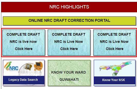 Assam NRC Draft