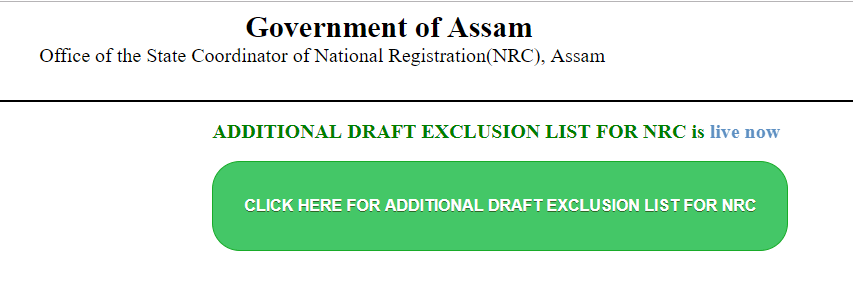 ADDITIONAL DRAFT EXCLUSION LIST FOR NRC