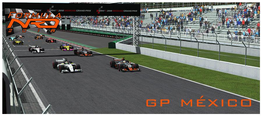 Salida GP México 2018