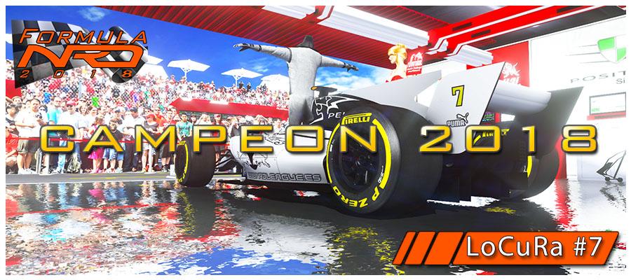 GP México, LoCuRa Campeón FormulaNRD 2018