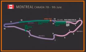 Gran Premio Canadá @ Circuito Gilles Villeneuve | Montréal | Québec | Canadá