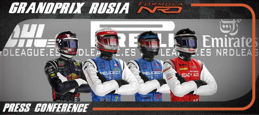 Rueda de Prensa, Gran Premio Rusia