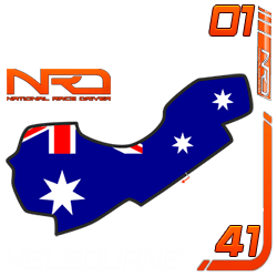 Gran Premio Australia, Albert Park 41 vueltas