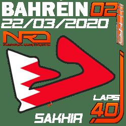 Gran Premio Bahrein, Sakhir 40 vueltas