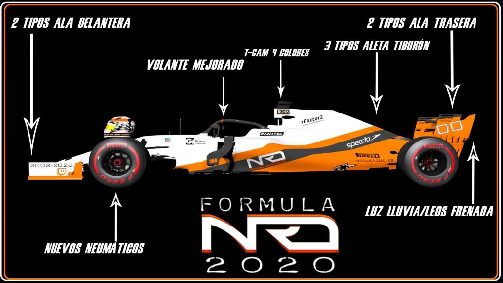 FormulaNRD Pre-temporada 2020