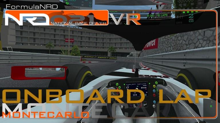 Monaco Onboard lap VR