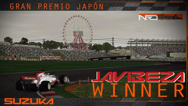 Javibeza resurge en Japón, y se lleva una importante victoria, Ricardo F. sigue al acecho.