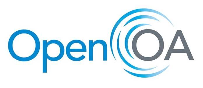 An illustration of the OpenOA logo.