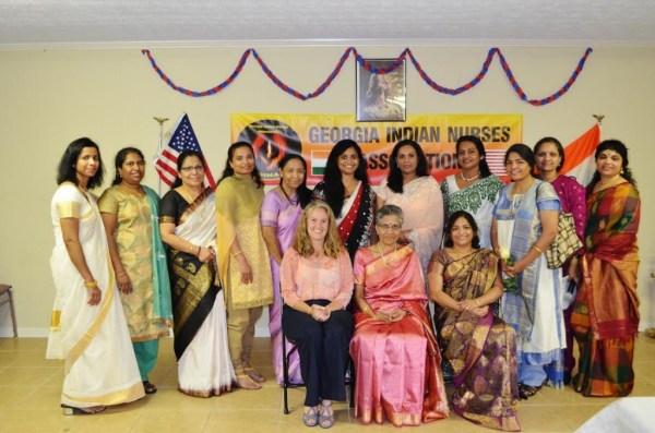 Georgia Indian Nurses Association Celebrates Nurses Week ...