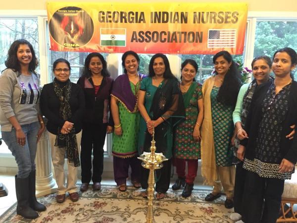 Georgia Indian Nurses Association (GINA) holds Inaugural ...
