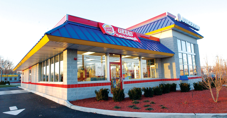 Lunch Menu Burger King