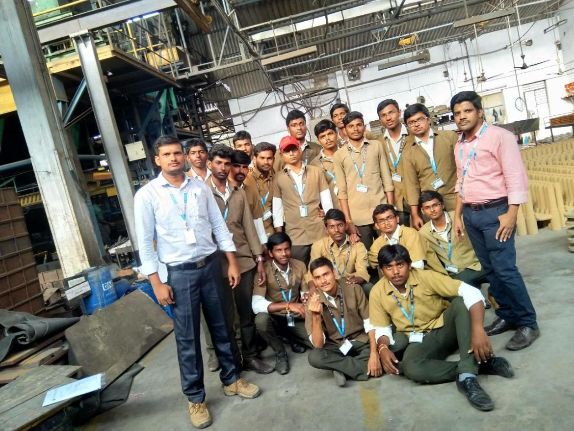 Industrial Visit By ME Students