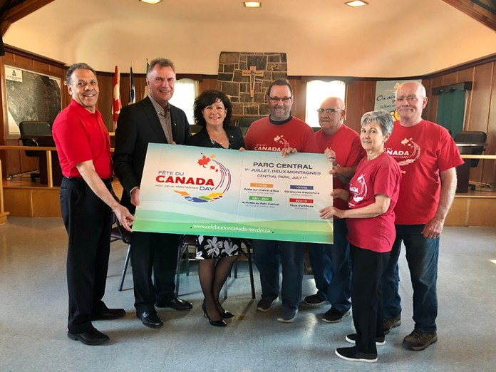 MP Lapointe announces $14,300 for Canada Day in Deux-Montagnes
