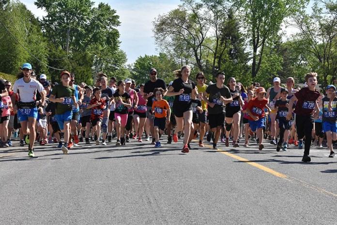 'Rosemère en Santé' foot race draws a large crowd