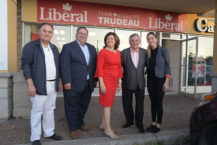 Incumbent MP Linda Lapointe launches bid for re-election