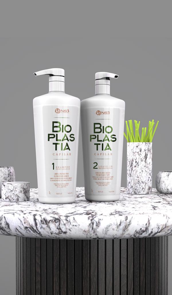 Bioplastia Site - SHAMPOO, LEAVE-IN LINHA BIOPLASTIA