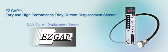 Eddy Current Displacement Sensor EZ GAP®