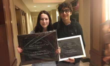 Nina Potischman and Jack Wareham Co-Champ the Mid-America Cup
