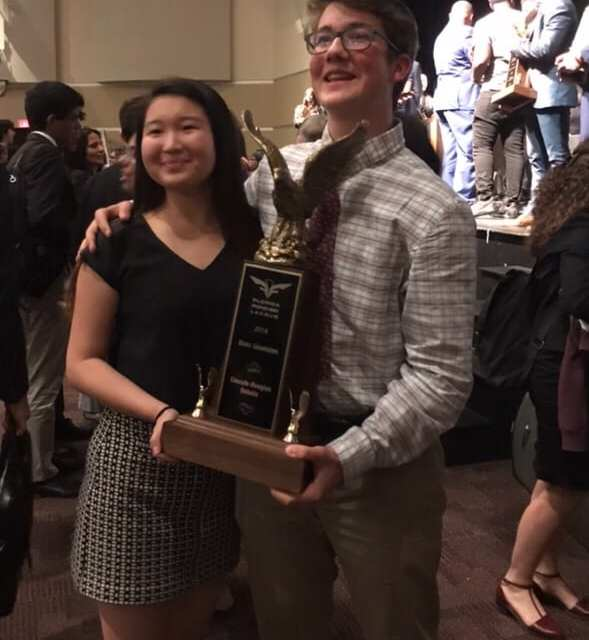 Lake Highland's Julia Wu and Ari Azbel Co-Champion Florida States