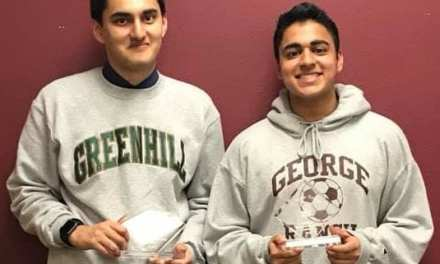 Greenhill's Mihir Rai Champions Colleyville