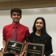 Greenhill's Shruthi Krishnan Wins Grapevine