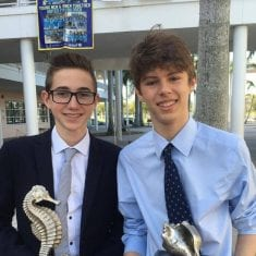 West Broward's Ethan Massa wins the Cypress Bay Tournament and Round Robin