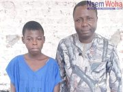 15year old boy imprisoned for 2 years in Ghana