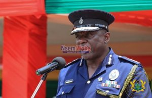 IGP Asante Apeatu speaking at event