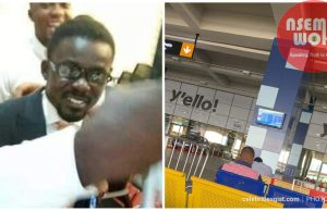 Menzgold boss NAM1 lands in Ghana after battling fraud charges in Dubai