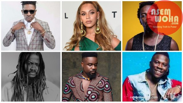 artists who congratulated Shatta wale on beyonce collaboration