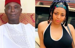 Regina Daniels and husband nwoko