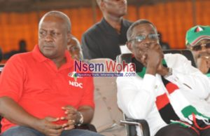 John Mahama and Attah Mills