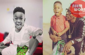 shatta wale and his son majesty photoshoot