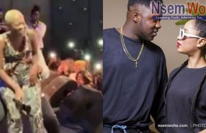 Sister derby, medikal and Fela Makafui share stage at Amsterdam