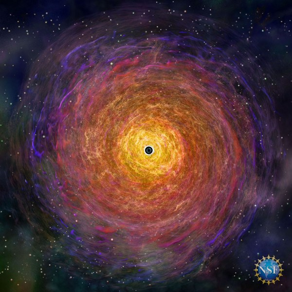 Astronomers capture first image of a black hole- All ...