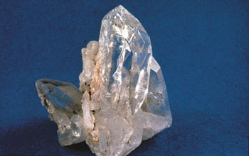 Photo de cristaux de quartz.