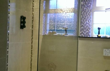 Walk In Shower Glass Panel