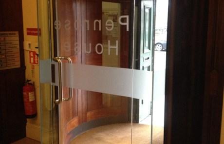 Toughened Glass Entrance Doors Munster