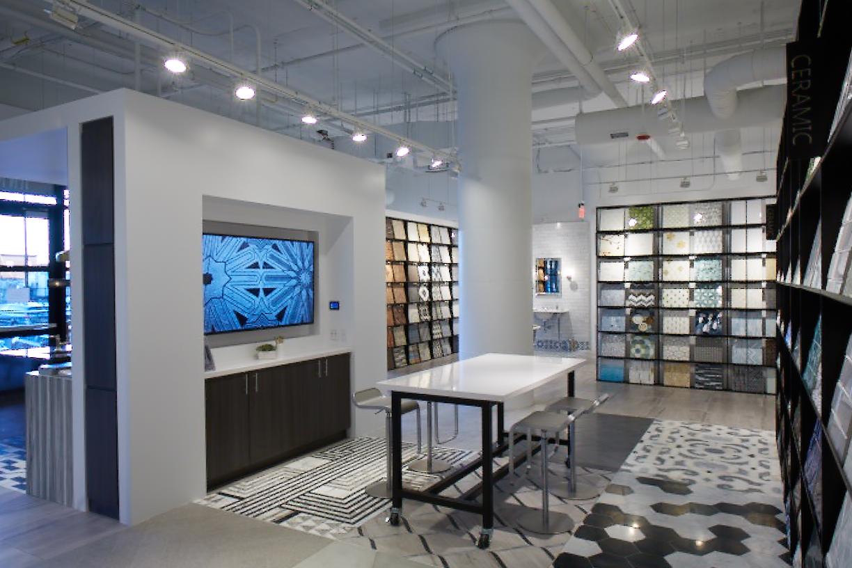 ann sacks boston showroom redesign