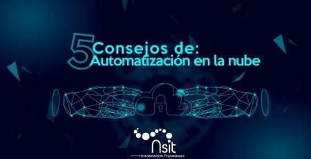 5 consejos de automatización en la nube en nsit