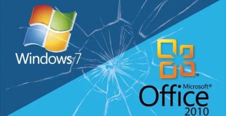 soporte técnico para Windows7 y Office10 Nsit