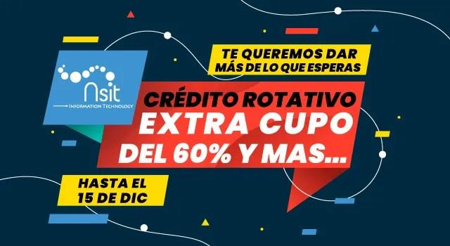 Extra Cupo del 60% NSIT