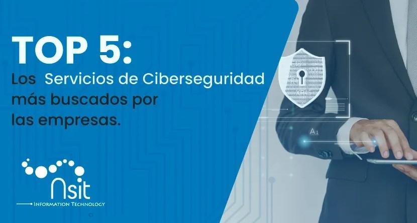 Servicios de ciberseguridad mas buscados por las empresas nsit