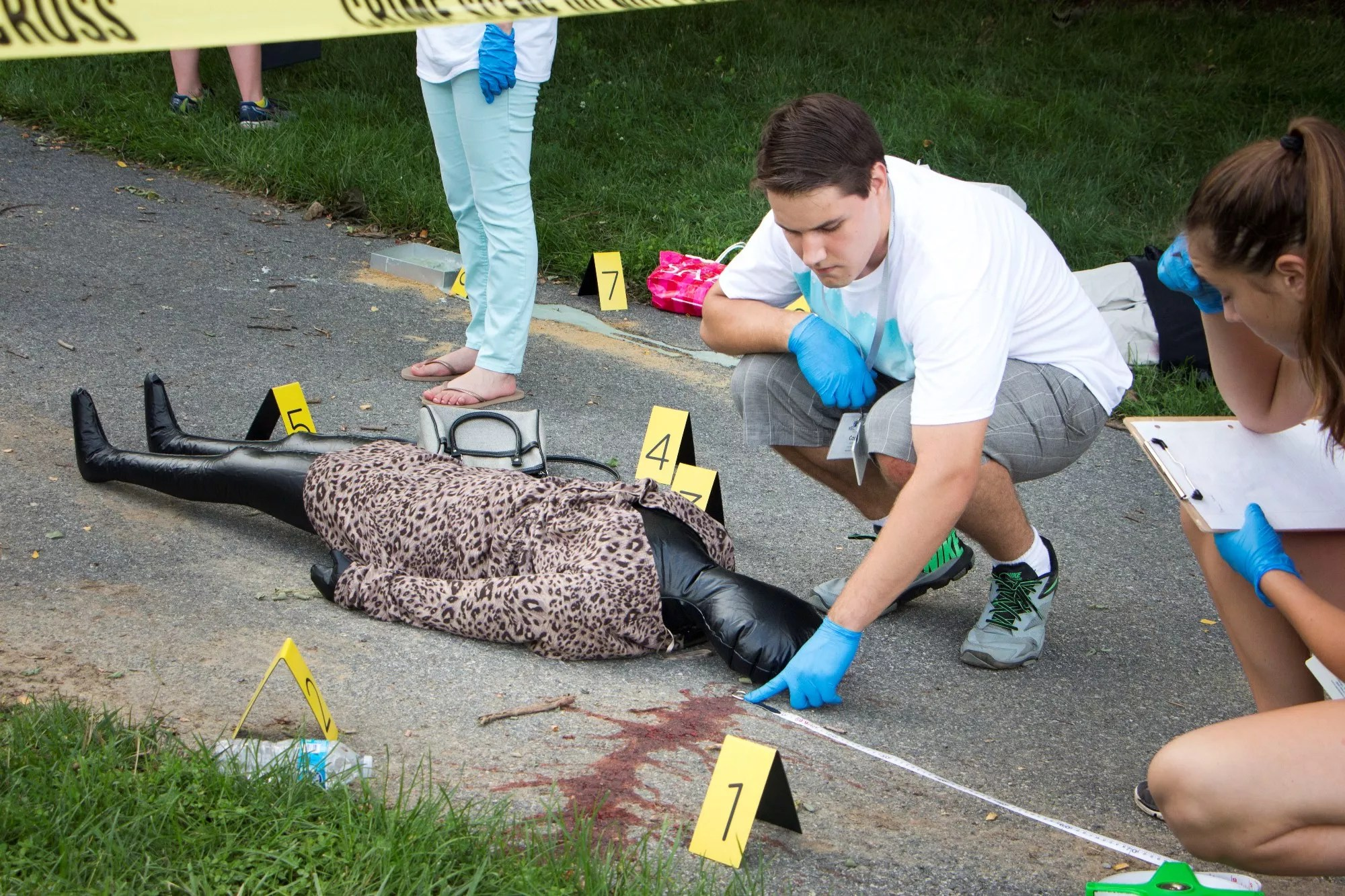 High School Courses Required For Forensic Science