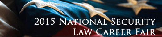 2015 National Security Law Career Fair