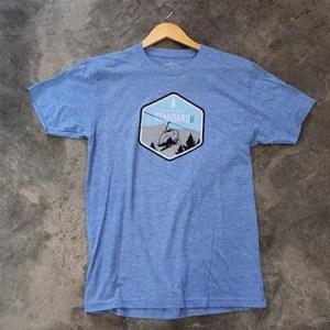 Blue Northern Standard snowboard t-shirt