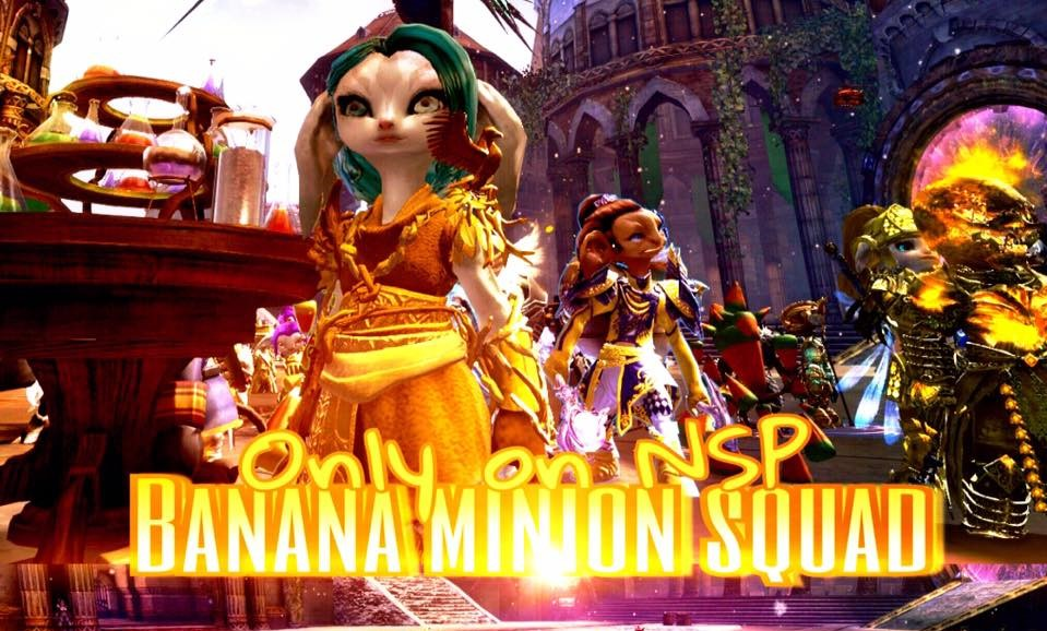FIRE Banana Minion Raid!
