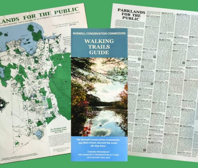 Hingham And Norwell Maps Now Available