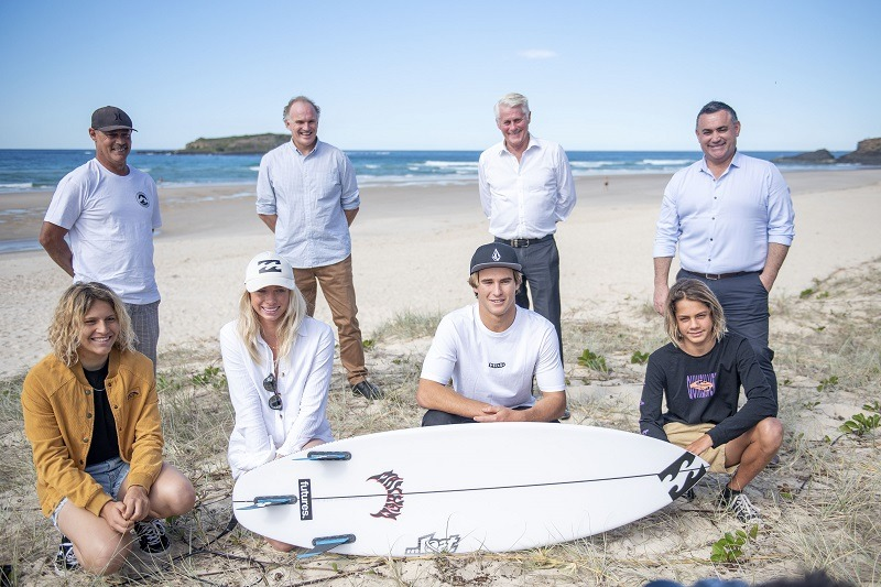 NSW Nationals Member for Tweed Geoff Provest is excited for the Tweed Coast Pro