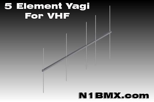 Homebrew 5 Element VHF Yagi - NT1K - Welcome